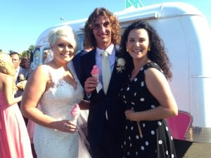 Suzanne Riley Marriage Celebrant icecream cool wedding