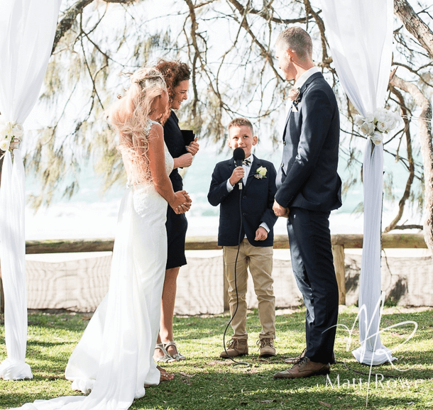 Suzanne-Riley-Marriage-Celebrant-for-the-Rings-at-Hidden-Grove-Noosa-wedding