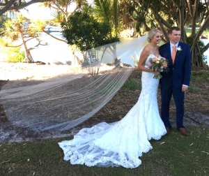 Suzanne Riley Marriage Celebrant veil story