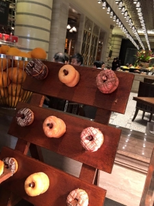 Suzanne Riley donut wall